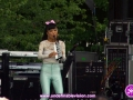 Japanese musical sensation Anna Li performing at The 4th Annual Grace Jamaican Jerk Festival