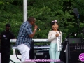 Irie Jam's Dubmaster Chris & Japanese musical sensation Anna Li performing at The 4th Annual Grace Jamaican Jerk Festival