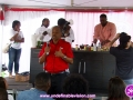 Grace CEO at The 4th Annual Grace Jamaican Jerk Festival Cookoff