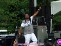 Ed Robinson performing at The 4th Annual Grace Jamaican Jerk Festival in New York City