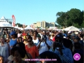 Crowd at The 4th Annual Grace Jamaican Jerk Festival in New York City