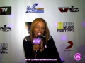 Brick City's own Rah Digga aka Dirty Harriet representing for Undefinable Vision at The 6th Annual Ocktoberfest Music & Film Festival in NYC  @ Stage 48